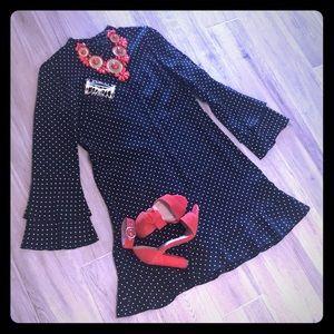 Beautiful Elegant polka dot dress